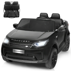 12V Licensed 2-Seater Land Rover Kid Ride On Car -Black