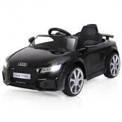 12V Audi TT RS Electric Remote Control MP3 Kids Riding Car-Black - Color: Black