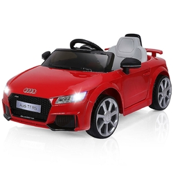 12 V Kids Electric Remote Control Riding Car-Red - Color: Red