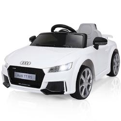 12V Audi TT RS Electric Remote Control MP3 Kids Riding Car-White - Color: White
