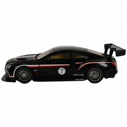 1/14 Bentley Licensed Electric Radio RC Car w/ Lights-Black - Color: Black