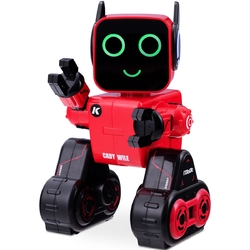 K3 Programmable Touch & Sound Control Piggy Sing Dance Robot-Red - Color: Red