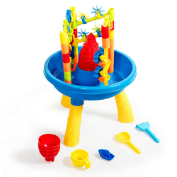2 in 1 Sand and Water Table Activity Play Center - Color: Multicolor