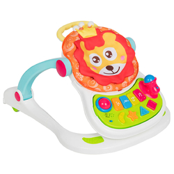 4-in-1 Educational Sit to Stand Walker for Toddlers