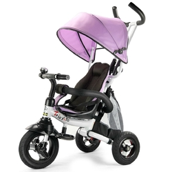 6-In-1 Kids Baby Stroller Tricycle Detachable Learning Toy Bike-Pink