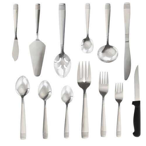 Palmore Plus 55 pc Flatware  Set in Remailer packaging