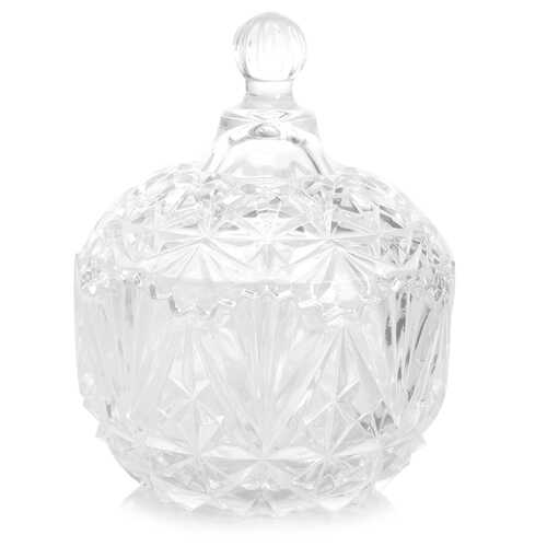 Home Jewelite Serve Bowl with Lid, Clear
