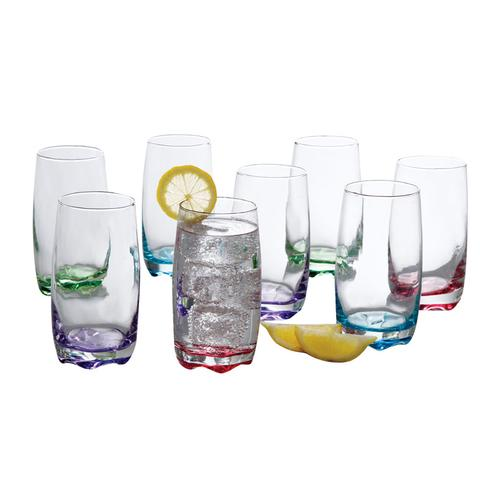 Karissa 8-Piece Glass Tumbler Set