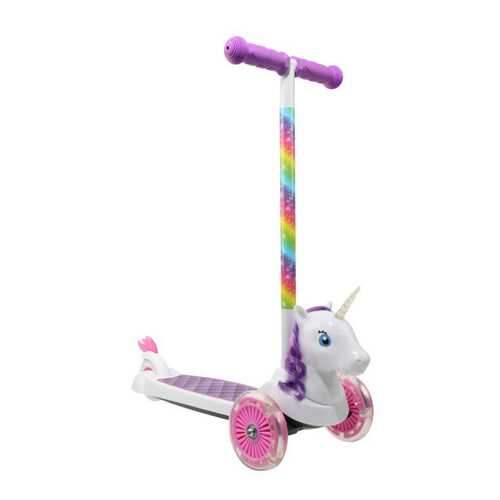 Dimensions 3D Unicorn Tilt and Turn Scooter