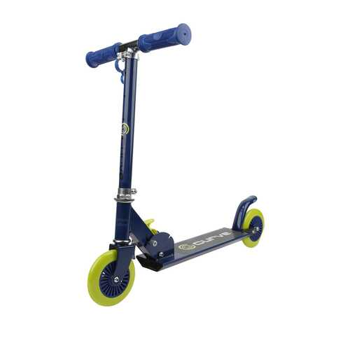 Curve Standard Folding Folding Lightweight Scooter in Blue