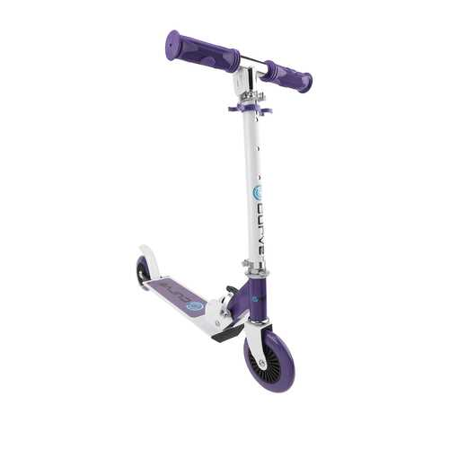 Curve Standard Folding Folding Lightweight Scooter in Purple