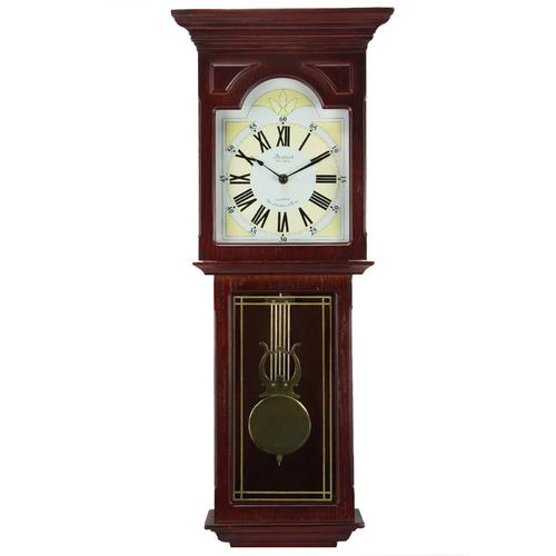 "Bedford Clock Collection Redwood 23"" Wall Clock"