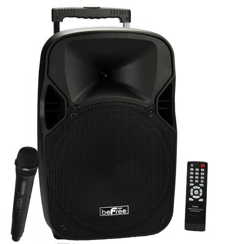 "beFree Sound 12"" Bluetooth Portable Speaker with USB/TF/FM Radio700W"