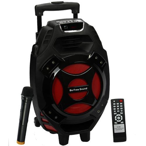 "beFree Sound 8"" Portable Speaker with USB/SD/MicroSD FM Radio 300W"