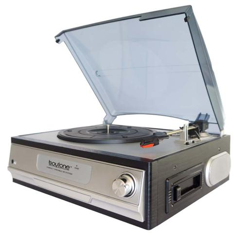 Boytone Multi RPM Turntable w/AUX/RCA/3.5mm Connectivity