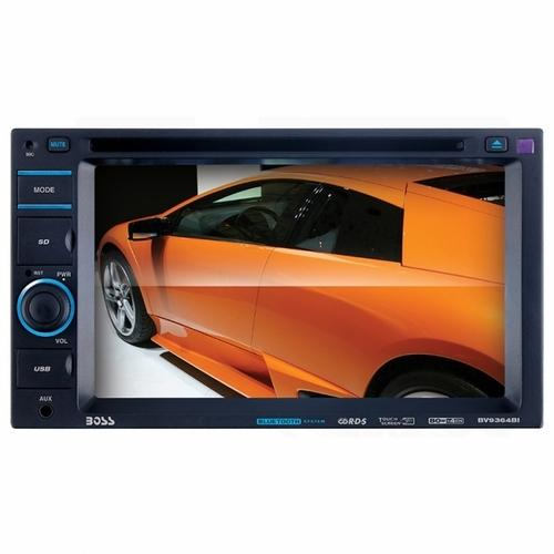 BOSS Audio Systems Boss Audio Bluetooth Enabled Double-DIN In-Dash DVD/MP3/CD