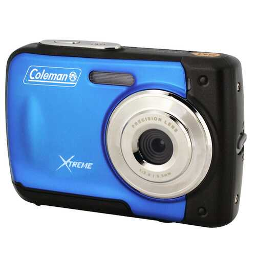 Coleman Xtreme 18.0 MP/HD Underwater Digital and Video Camera Blue