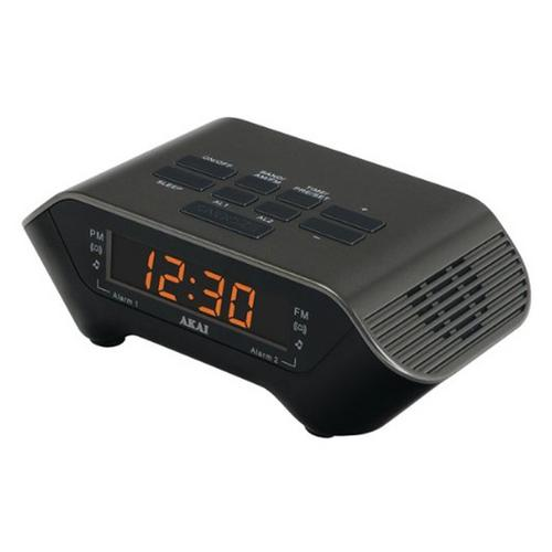 AKAI AM/FM PLL Alarm Clock Radio