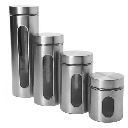 Anchor Palladian 4 Piece Canister Set