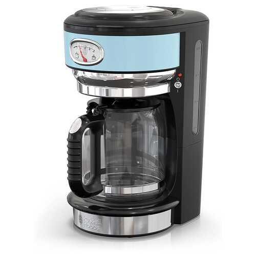Russell Hobbs Retro Style 8 Cup Coffee Maker in Heavenly Blue