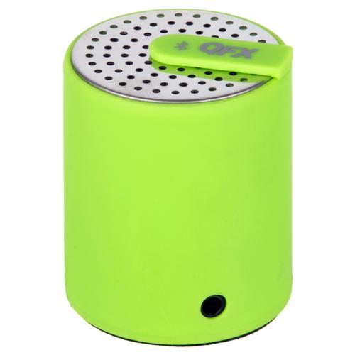QFX Portable Bluetooth Speaker with AUX-IN- Lime