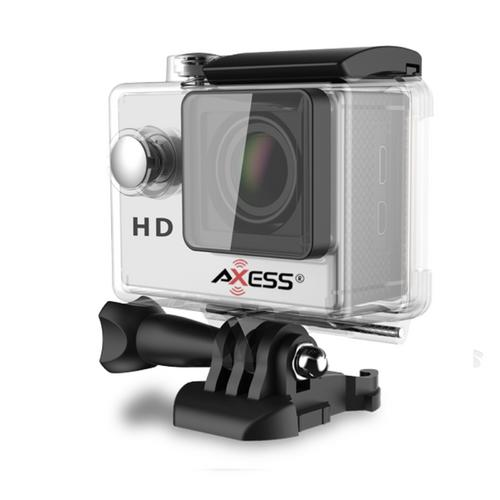Axess HD 720p Waterproof Action Camera-Silver