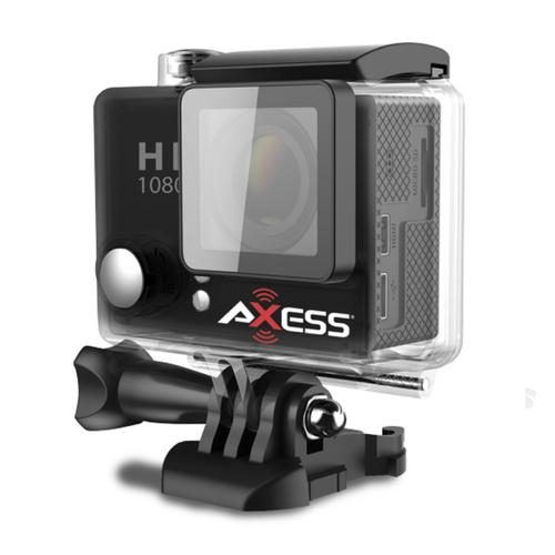 Axess Full HD 1080h.264  Waterproof Action Camera-Black