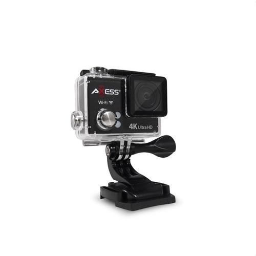 Axess 4K Ultra HD Action Cam in Silver