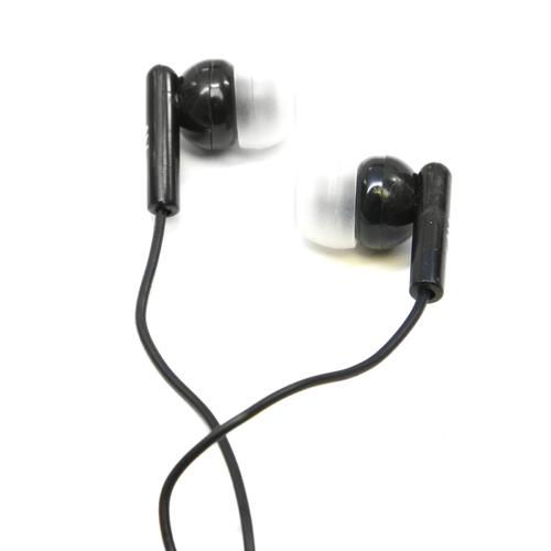 Nutek Black Stereo Earbuds