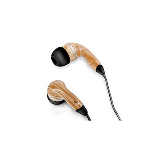 Graphic Collection Wood Headphones- Black