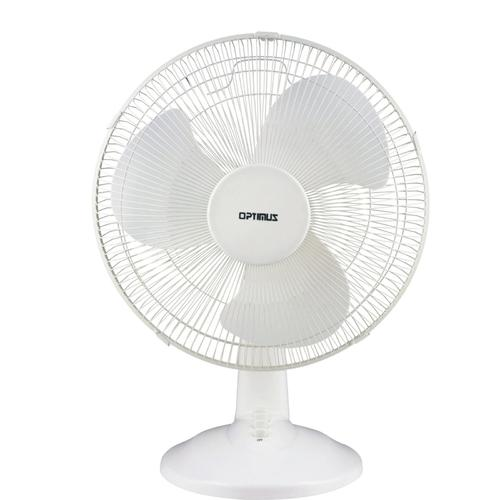 "16"" Oscillating Table Fan- Silver"