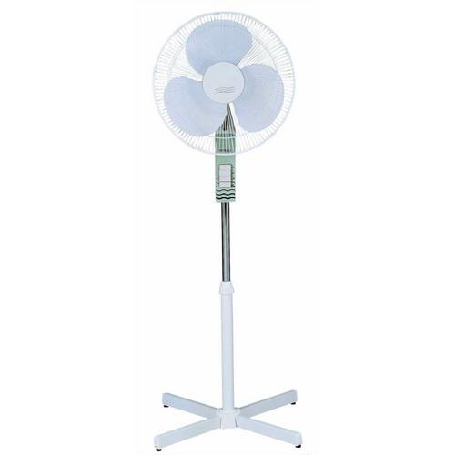 "16"" Oscillating Stand Fan Piano Key Switch"