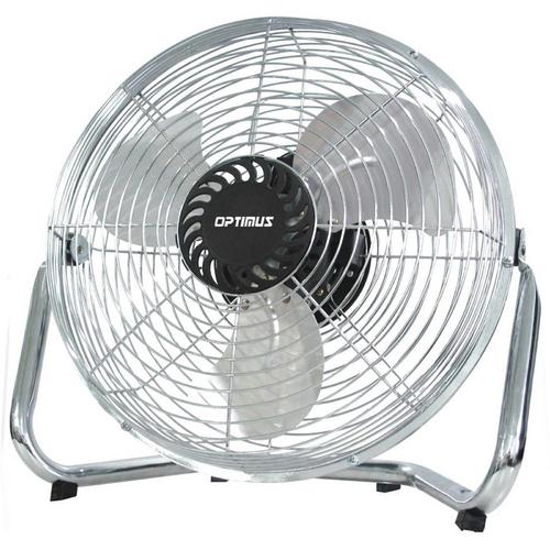 "Optimus 12"" Industrial Grade High Velocity Fan - Chrome Grill"