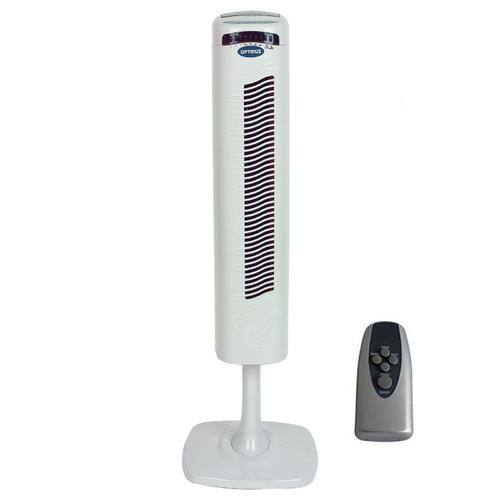 "40"" Pedestal Tower Fan with Remote Control & LED"