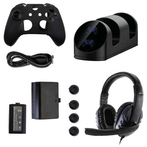 GameFitz 10 in 1 Accessories Kit for the Xbox Series S&X