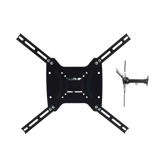 MegaMounts Versatile Full Motion Television Wall Mount for 17 - 55 Inch