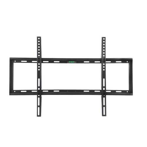 MegaMounts Smooth Black Matt Finish Fixed Television Mount for 26 - 55 Inch Plasma/LCD/LED Televisions