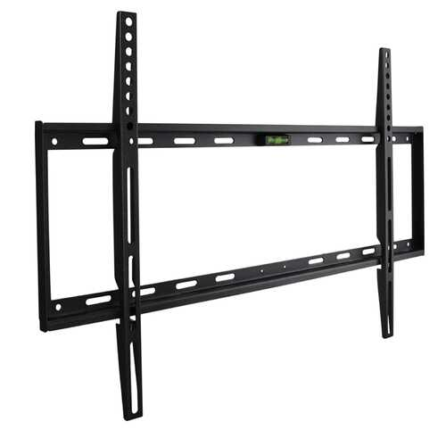 MegaMounts Fixed Wall Mount with Bubble Level for 32-70 Inch  LCD, LED, and Plasma Screens