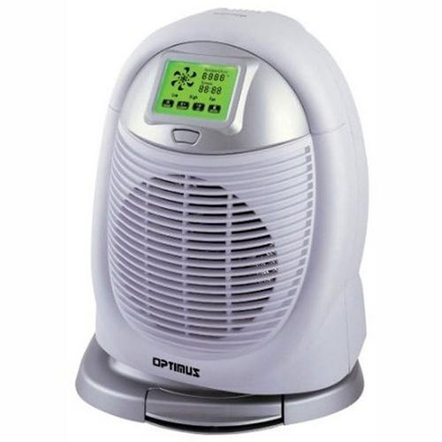 Optimus Digital Oscillating Fan Heater with touch Screen