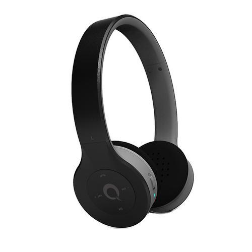 Quantum FX Bluetooth Stereo Headphones with Microphone Built-In Rechargeable Battery