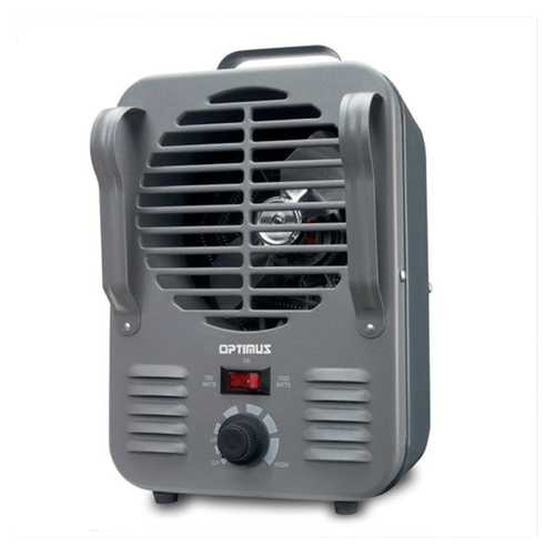 Portable Utility Heater with Thermostat-Medium Size