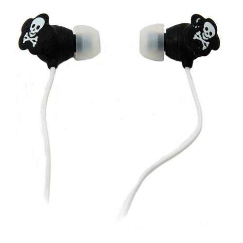 QFX Lightweight Stereo Earbuds-White