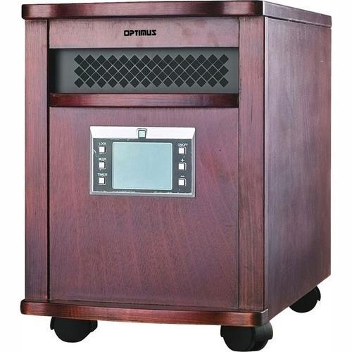 Infrared Quartz Heater With Remote
