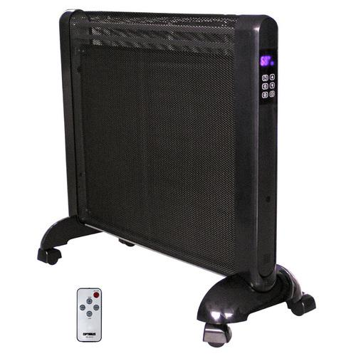 Micathermic Flat-Panel Heater with Remote Control