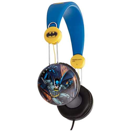 Batman Kids Over The Ear Headphones