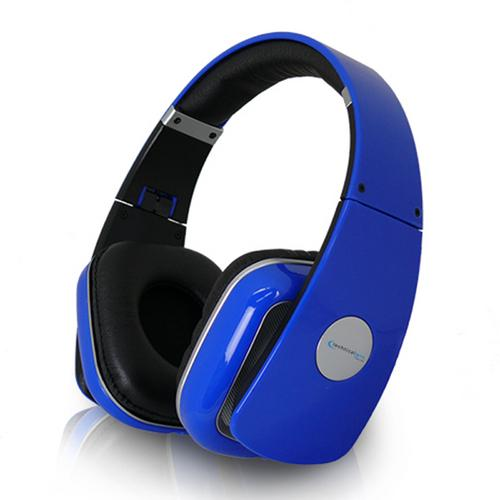 Technical Pro Adjustable Hheadband Professional Headphones- Blue