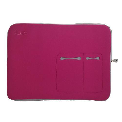 "iLuv 17"" Macbook Pro Sleeve - Pink"