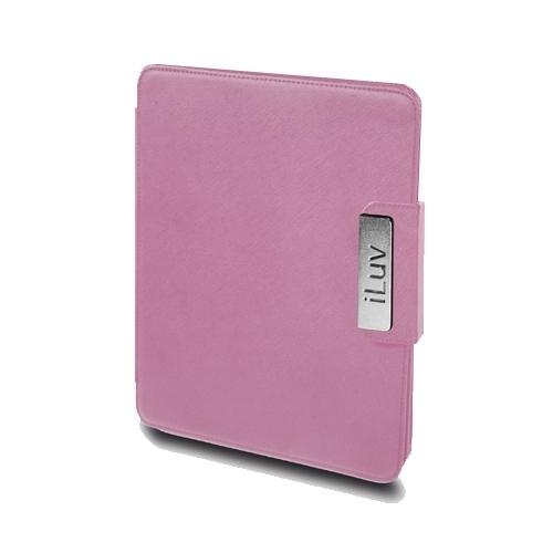 iLuv ICC806PNK iPad Foldable Leather Case fOR ALL iPAD MODELS