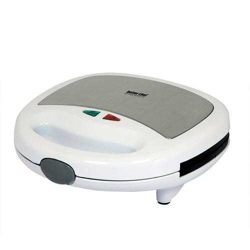 Better Chef Panini Contact Grill- White With Stainless Steel