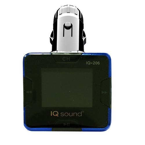 "Supersonic Wireless FM Transmitter with 1.4"" Display"